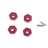 Acessórios do metal do conector 1:14 para as peças do carro Wltoys 144001 RC