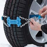 88センチ硬質プラスチック金属車のタイヤ滑り止めチェーン屋外ハイキングキャンプスノーフィールド緊急雪チェーン
