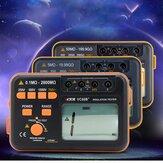VICTOR VC60B / D / E + رقمي جهاز اختبار مقاومة العزل الأصلي Megohmmeter Insulation Tester