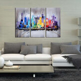 3 Pcs Modern Framed Canvas Wall Art Pintados à mão Pintura 60 * 30 cm Art Painting Supplies