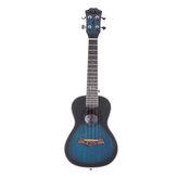 Andrew 23 дюймов Струна из высокомолекулярного углерода из красного дерева, темно-синяя гавайская гитара для гитариста