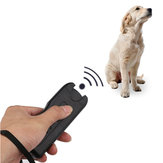 3 In 1 LED Ultrasonic Anti Barking Pet Dog Train Repeller Control Trainer Dispositivo