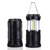 Portátil LED Lanterna lanterna acampamento 3 AA Baterias Kits de sobrevivência para viagens de caminhada ao ar livre