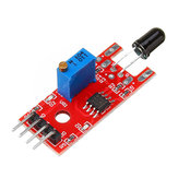 20pcs KY-026 Flame Sensor Module IR Sensor Detector Temperature Detecting Geekcreit for Arduino - products that work with official Arduino boards