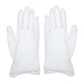 100Pcs Disposable Medical Gloves PVC Powder Free Glove for Cleaning Cooking Hair Coloring Dishwashing Food Handling and Food Service