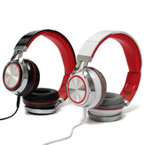 Headphone Stereo Headphone Headphone Earphone Headset Dengan Mic Untuk iPhone Smartphone MP3 / 4 PC