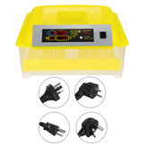 Automatic 48 Egg Incubator Home LED Candling Chicken Duck Hatcher Pigeon Quail