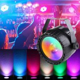 30W RGB + UV COB LED RGB Etapa Luz DMX Control remoto DJ Bar Disco KTV Party Christmas