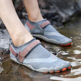 Men Outdoor Fabric Mesh Non Slip Quick Drying Beach Water Diving Shoes