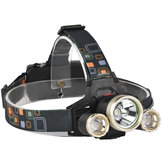 XANES 739 1200 Lumens T6 + XPE LED Bicycle Headlight Outdoor Sports HeadLamp 4 Modes Adjustable