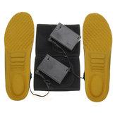 Ηλεκτρική θερμομονωτική σόλα χειμώνα σόλα παπουτσιών θερμαντήρα ποδιών θερμαινόμενα μαξιλαράκια σετ