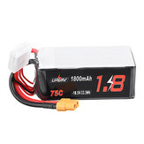 URUAV 18.5V 1800mAh 75C 5S Lipo Battery XT60 Wtyczka do RC Drone