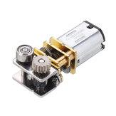 Machifit GM12YN20-3DP DC12V 11RPM Salida de ángulo recto Metal Gearbox Micro Gear motor para 3D Pluma