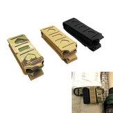リリース高速プル戦術ホルスターMolloCS機器弾性ストリングクリッププルマガジン添付ファイル