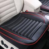 5/10/20pcs50x50cmPUDeri Araba Yastık Koltuk Sandalyesi Örtüsü Siyah / Bej / Kahve Otomatik İç Pad Mat