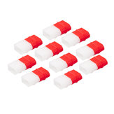 10 PCS RJX XT60 Charged déchargé LiPo Batterie Indicateur Caps Housse de protection pour RC Drone