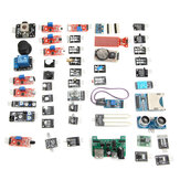 Geekcreit 45 In 1 Sensor Module Board Starter Kits Upgrade Version Geekcreit for Arduino - products that work with official Arduino boards