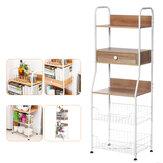 5-ярусная кухонная стойка для микроволновой печи, полка для хранения для домашней кухни, стеллаж для хранения