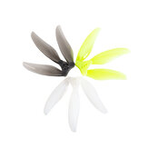 2Pairs GEMFAN Floppy 3 Blade Proppy 4019 4 Inch 1.5mm Durable PC FPV Propeller for FPV Racing RC Drone