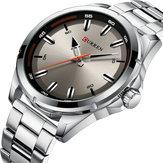 CURREN8320ビジネススタイルステンレススチールメンズ腕時計
