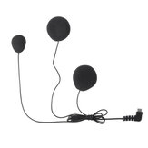 Soft Tube Intercom Headset with Microphone Type C For BT-S2 BT-S1 BT-S3 Helmet Interphone