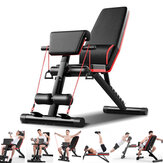 5-in-1 Adjustable Sit Up Bench Folding Weight Lifting Strength Training Board Home Gym Fitness Sport Exercise Bench