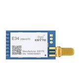 Ebyte® E34-2G4H27D nRF24L01P 2,4 GHz 5 km 27 dBm 500 mW DIP UART-Modul für drahtlosen Auto-Hopping-Transceiver