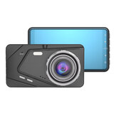 BX50 4 Inch Full HD 1080P Dash Cam DVR Car Video Recorder Cycle Recording Wide Angle Vehicle Dashcam with Rear View Camera