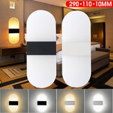290x110x10mm 6W 24LED Modern Wall Light Surface Mounted Oval Sconce Hallway Aisle Bedroom Indoor Lamp AC100-240V