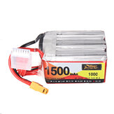 ZOP Power 22.2V 1500mAh 100C 6S Lipo Battery XT60 Plug for RC Racing Drone