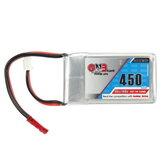 Gaoneng GNB 7.4V 450mAh 2S 80/160C Lipo Battery JST Plug For Eachine Aurora 90 100 FPV Racer