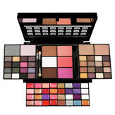 74 Color Eye Shadow Set Lip Gloss Blush Foundation