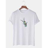 T-shirts décontractés à manches courtes pour hommes