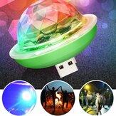 Mini USB RGB LED Palla illuminazione palco discoteca Colorful Ambient lampada Decorazioni per feste