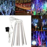 Outdoor 30cm USB LED Meteor Shower Rain 8 Tubes Xmas Light with US Plug