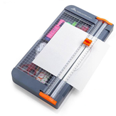 A4 Paper Cutter Multifunctional Storage Box Manual Paper Cutter for School Home Office Supplies
