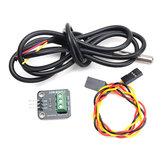 3Pcs DS18B20 Температура Датчик Модуль Набор Водонепроницаемы Электронный строительный блок Geekcreit для Arduino - продукты, которые работают с официа