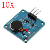 10pcs Vibration Motor Module Mini Flat Vibrating DC Motor Geekcreit for Arduino - products that work with official Arduino boards