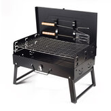 Folding BBQ Grill Portable Charcoal Steel Stove Outdoor Camping Picnic Barbecue Stove