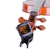 Cherub WST-660V Adjustable Clip on Tuner with LCD Display for Violin