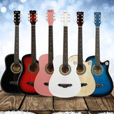 IRIN 38 بوصة 6 String Acoustic Guitar with Guitar Bag for Beginners