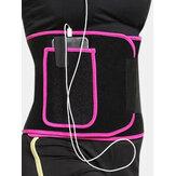 Frauen Sport verstellbare Burning Fat Taille Trainer mit Tasche