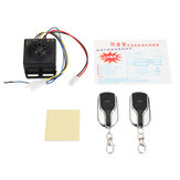 48V~60V Anti-theft Alarm System 2 Remote Control For Motorcycle/Scooter/Autobike