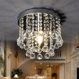 220V Crystal LED Deckenleuchte Crystal Chandelier Moderne Unterputz-Leuchte
