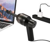 Mini Aspirador Inalámbrico Aspirador de Escritorio Aspirador Multiuso Teclado Limpiador Eléctrico Portátil USB Limpiador herramienta