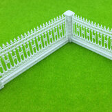 1:87 HO Scale Detaceable Fences For Sand Table نموذج مبنى قطار سكة حديد