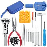 34pcs Relógio Kit de ferramentas de reparo Relógio Banda Chave de fenda de abridor de tira de cinta