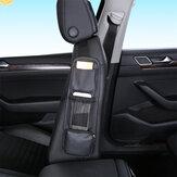 Couro PU multifuncional com telefone diversos Armazenamento Suporte de bolso Assento de carro lateral suspenso Armazenamento Bolsa