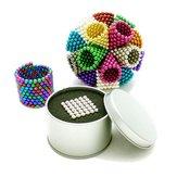222sztukzadużo6mmMulti-Colror Magnesyczne Buck Balls Intelligent Cube Magic Beads Puzzle Toys