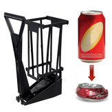12 oz Can Crusher Aluminum Soda Beer Bottle Cans Recycling Wall Mounted Tools Kit
